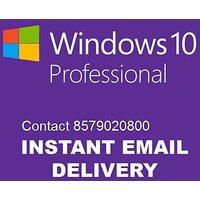 Microsoft Windows 10 Pro Key digital delivery -1user lifetime