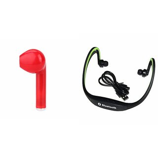 CLAIRBELL Bluetooth Headset BS19C For SAMSUNG GALAXY S6 ACTIVEHBQ I7R