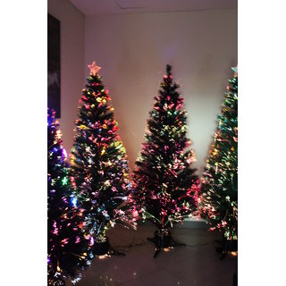 UNIQUE- 6 FEET LIGHT CHRISTMAS TREE - PREMIUM QUALITY - BASE STAND- FREE DECORATION