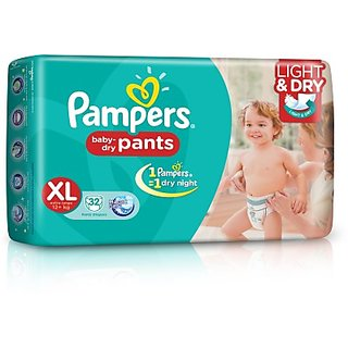 Pampers Pants Diaper Extra Large Size 44 Count