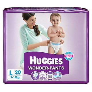 Huggies Wonder Pants Large - 50 Pcs (9 - 14 Kgs)