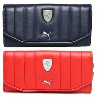 Puma Red-Blue Clutch Wallet For Women
