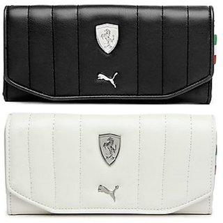 d342c0575e Buy Puma Black-White Clutch Wallet For Women Online - Get 83% Off