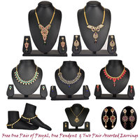 Sanaya 7pcs Jewellery Collection by Shital Jewellery