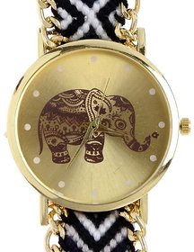 Jasmin Sales Stylish Analog Elephant Watch For Woman And Girls