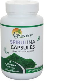 Spirulina Capsules Bottle