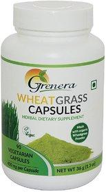 Wheatgrass Capsules Bottle
