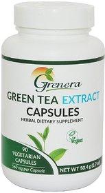 Green Tea Extract Capsules Bottles