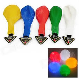 LED Light Ballons (Set Of 5)