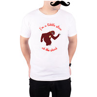 Mooch Wale Flash Zootopia Im Alittle Slow At The Start  White Quick-Dri T-shirt For Men