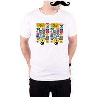Mooch Wale How I Met Your Mother Quotes  White Quick-Dri T-shirt For Men