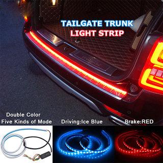 Car styling led strip lighting rear trunk tail light red dynamic car styling led strip lighting rear trunk tail light red dynamic streamer brake aloadofball Images