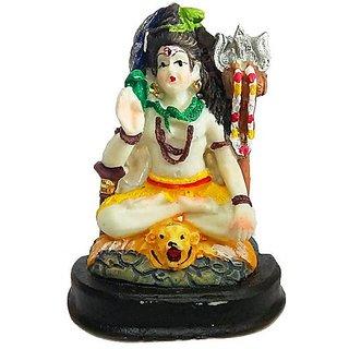 Handmade Porcelain Shiv Ji