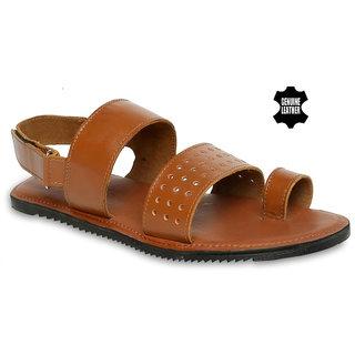 83544ff19234 Buy Mywalk Mens Leather Formal Slip On Sandal Online - Get 50% Off