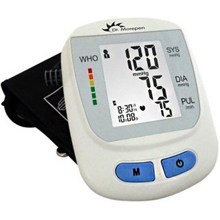 Dr. Morepen B P MONITOR BP-09 WITH ONE YEAR WARRANTY Bp Monitor  (White)