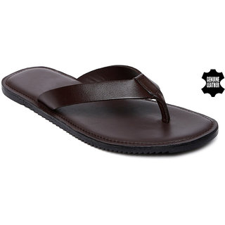 a8cda157e0b1 Buy MyWalk Mens Leather Casual Slipper Online - Get 50% Off
