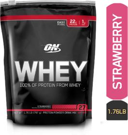 Optimum Nutrition (ON) Whey - 1.76 lb (Strawberry)