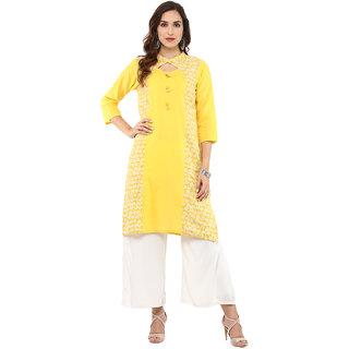 716815fc25c Buy Rangeelo Rajasthan Printed Women s Knee Length Straight Cotton ...