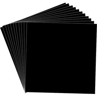 Cardstock 12x12 inch 450 gsm- Soot Black
