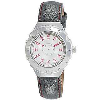 Fastrack Analog White Dial Womens Watch-6157Sl01