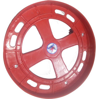 G.k Red Gas cylinder trolley with wheels best Quality with Strong Plastic Wheels