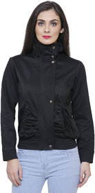 Tshirt Company Black Fleece Jacket