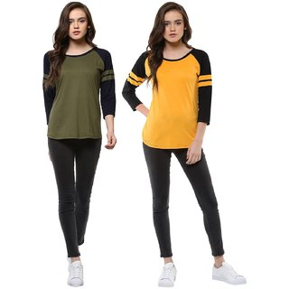 Veirdo Tshirts Combo For Women