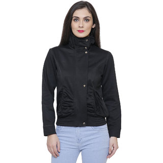 Tshirt Company Black Fleece Jacket