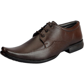 FAUSTO Brown Men's Formal Lace-ups