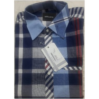 AFFLATUS Mens Regular Formal Shirt  (Only L Size)
