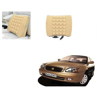 Autonity Car Seat Vibrating Massage Cushion Beige For Mahindra Verito