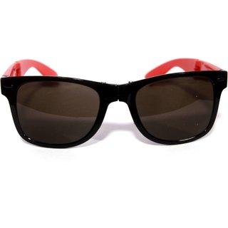 c7682b43dbd Buy Derry Folding Black Red Wayfarer Sunglasses Online - Get 82% Off