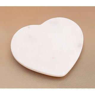 White Heart Platter