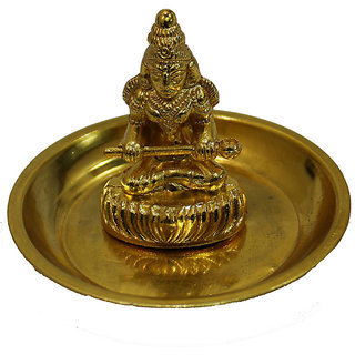 Haridwar Astro Metal Annpurna Small with Brass Plate