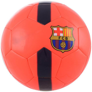 Barca Orange Football (Size-5)