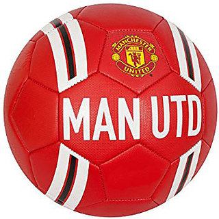 Manchestor United MAN UTD Red/White Football (Size-5)