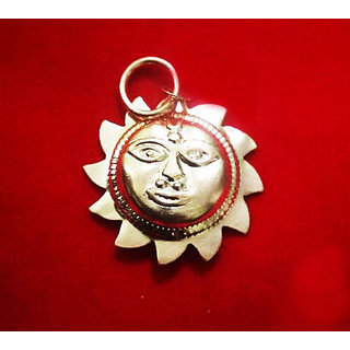 ReBuy Surya Yantra Pendant Pure Copper for Good Luck Energized