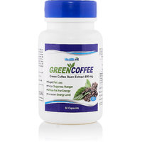 Healthvit Green Coffee Bean Extract 800 Mg  60 Capsules