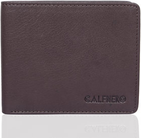 CALFNERO Men's Genuine Leather Wallet