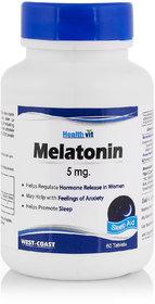 Healthvit Melatonin 5mg 60 Tablets