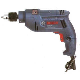 Bosch GSB 501 Professional 13mm Impact Drill 500W,Blue