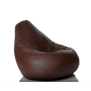 Sicillian Bean Bags Bean Bag - Size Xxl - Without Fillers - Cover Only (Brown)