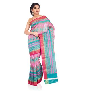 SUDARSHAN NEW STYLE DESIGNER SAREE-Pink-SPS124-VQ-Raw Silk