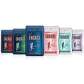 Pocket Perfume (Pack Of 4)(flavours may vary)