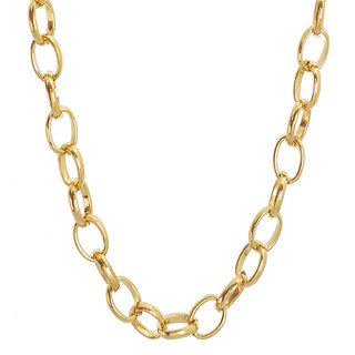 Sanaa Creations Mens Style Stainless Steel Gold Plated Alloy Mens Chain New Year Special Offer for Men  Boys