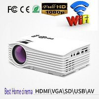 Projector UNIC UC36 1080P WiFi LED Projector Support DL
