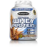 Muscletech 100 Premium Whey Protein Plus, 5lbs, Triple