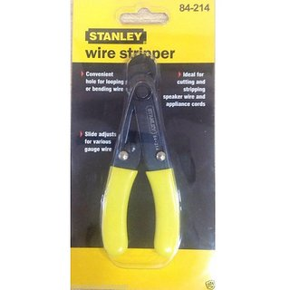 Cutting Applications Stanley Wire Stripper 84-214 O/A Length: 130 mm
