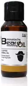 Mustache and Beard Coffee Herbal Oil