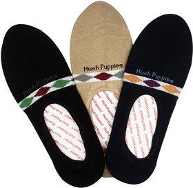 Hush Puppies Women's Ballerina No-Show Invisible Socks Pack of 3 Pair